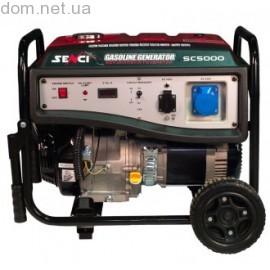 Бензогенератор Senci SC5000-М (4.2-4.5 кВт)