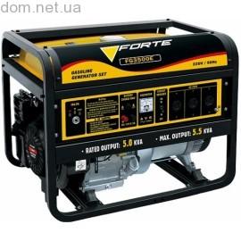 Бензиновый генератор FORTE FG 3500Е
