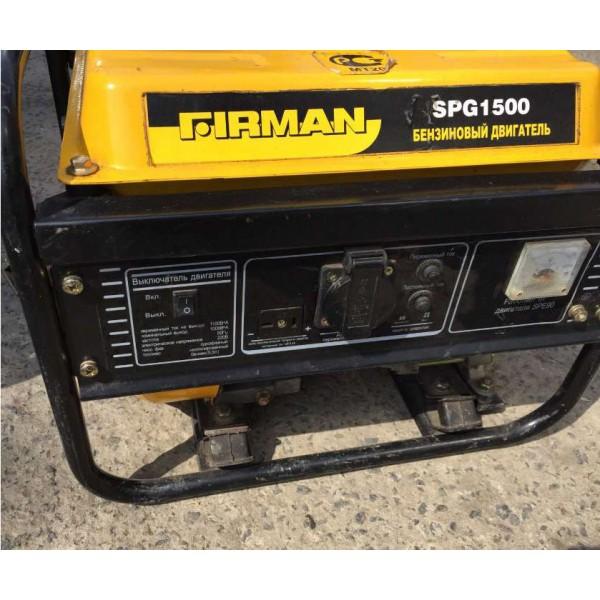 Бензиновый генератор FIRMAN SPG 1500